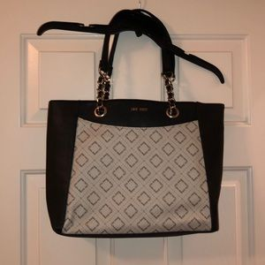 Nine West. Faux Leather Tote Bag.